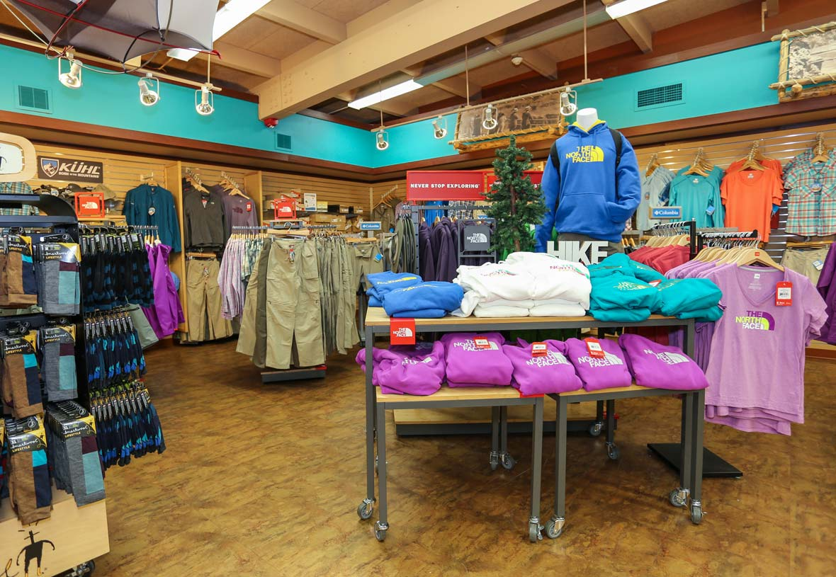 Shop for Grand Canyon clothing, souvenirs, and more at Canyon Village.