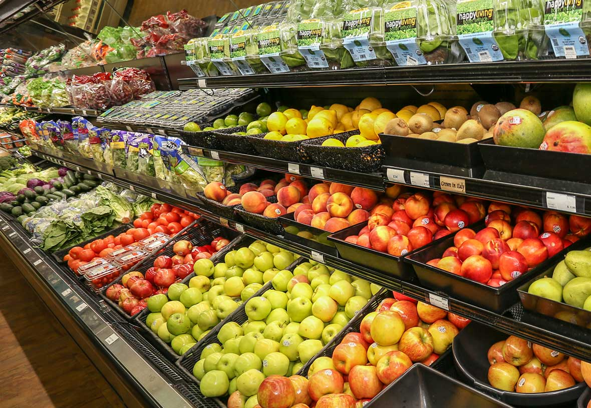 Canyon Village Market features a great selection of fresh produce.