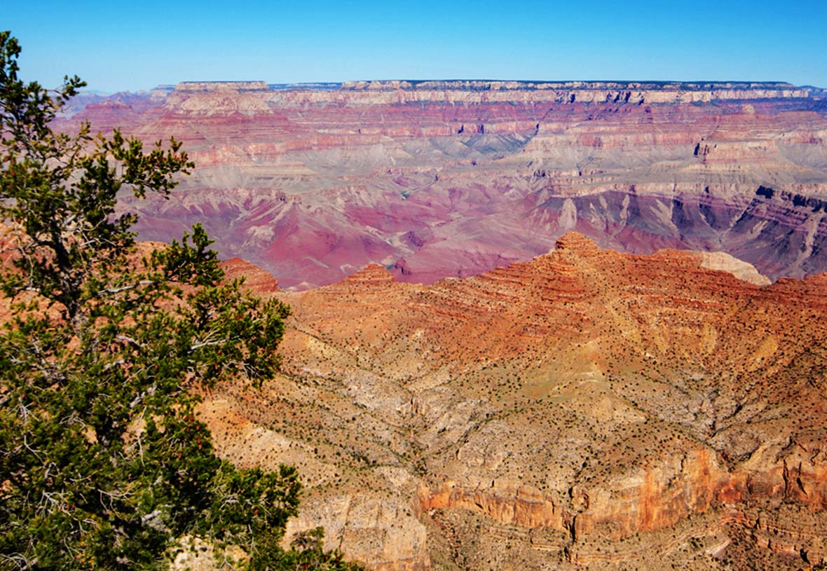 Breathtaking views of the Grand Canyon from Desert View.