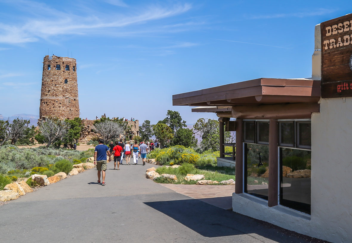 Open year-round, Desert View Trading Post and Watchtower is a must-see.