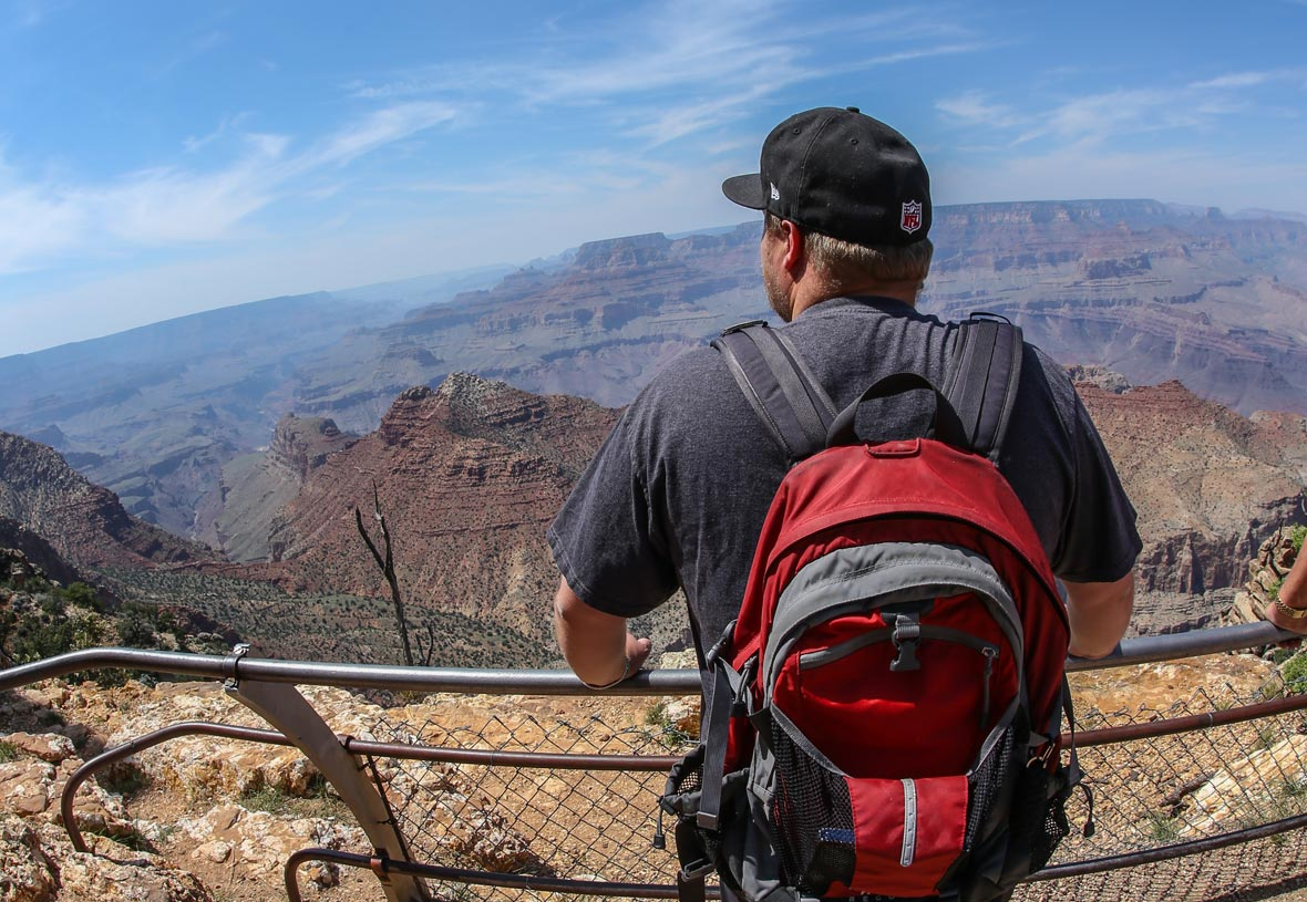 Visit Desert View to see a different side of Grand Canyon