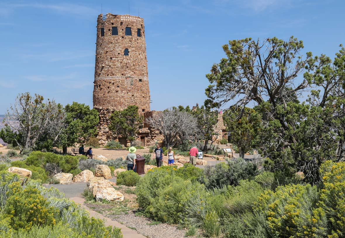 The Iconic Desert View Watchtower