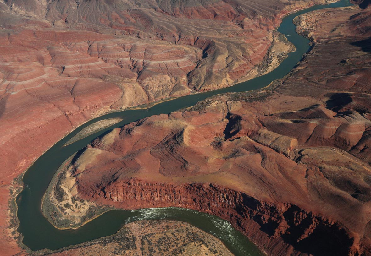 The Colorado River at the Grand Canyon
