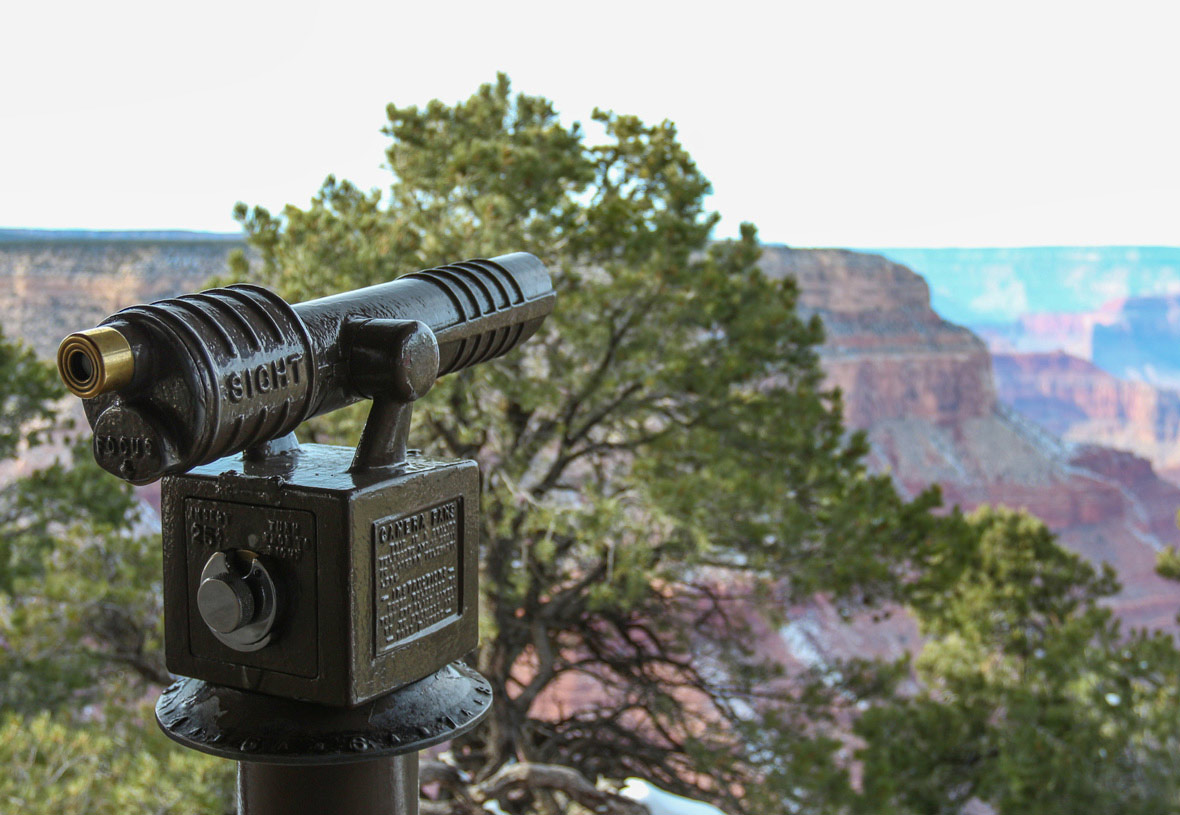 Grand Canyon Viewing Telescope