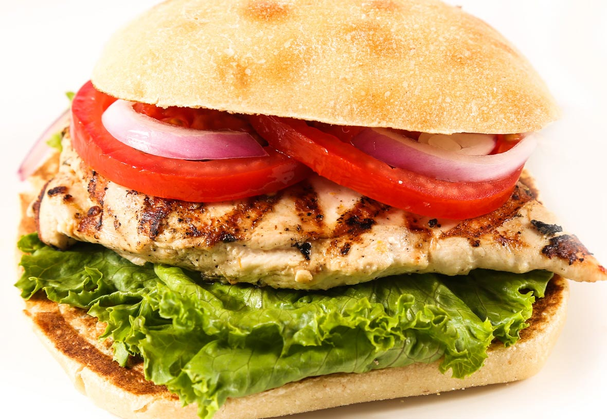 Yavapai Lodge Restaurant Grilled Chicken Sandwich