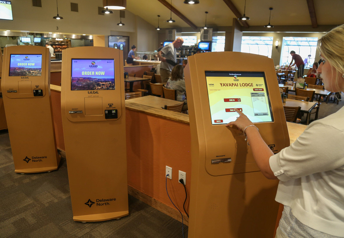 Save time and order faster with our new kiosks.