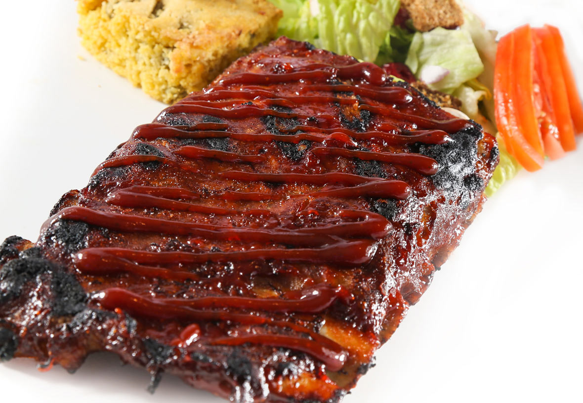 Yavapai Lodge Restaurant Half Rack BBQ Pork Ribs