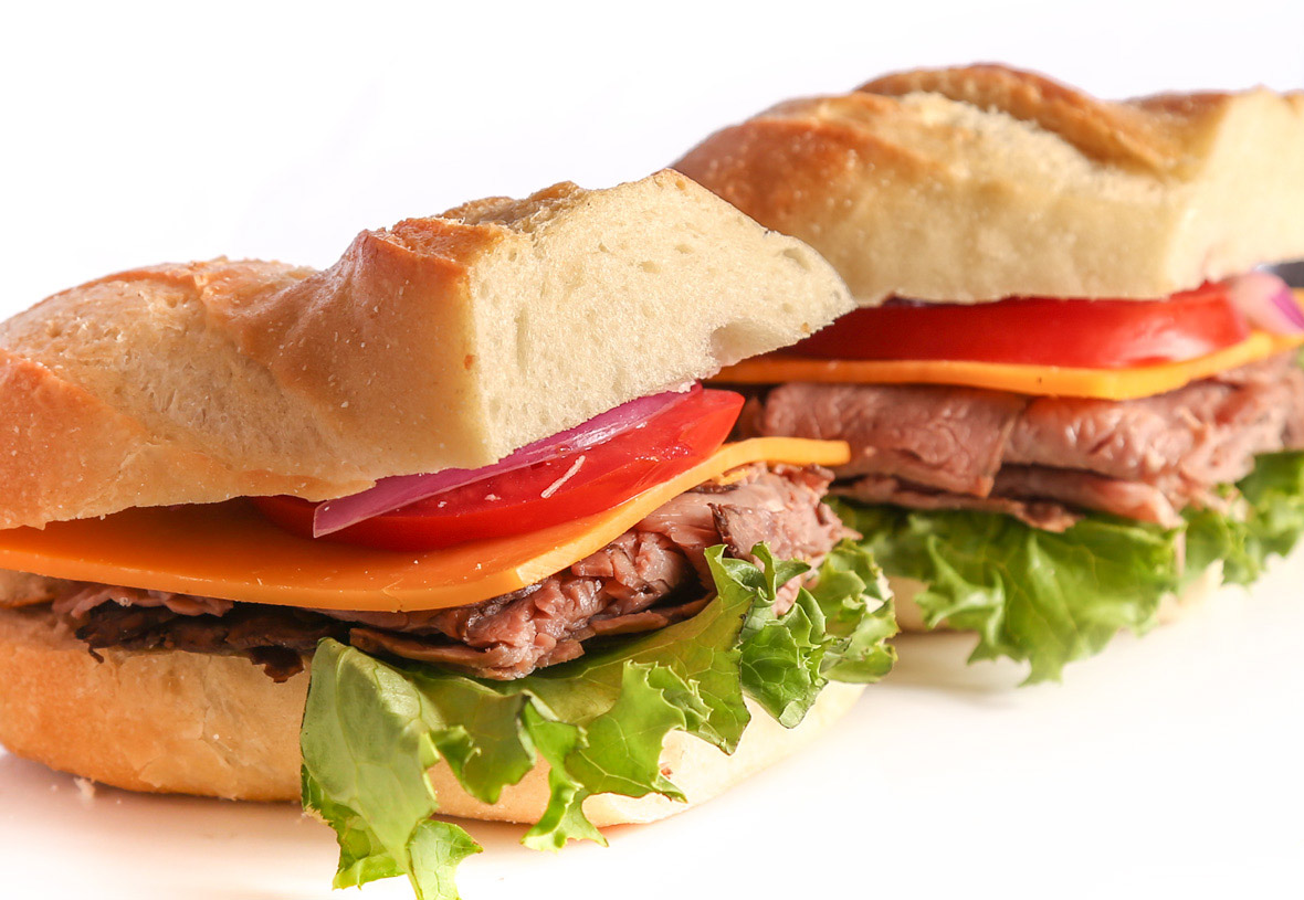 Yavapai Lodge Restaurant Roast Beef Sandwich