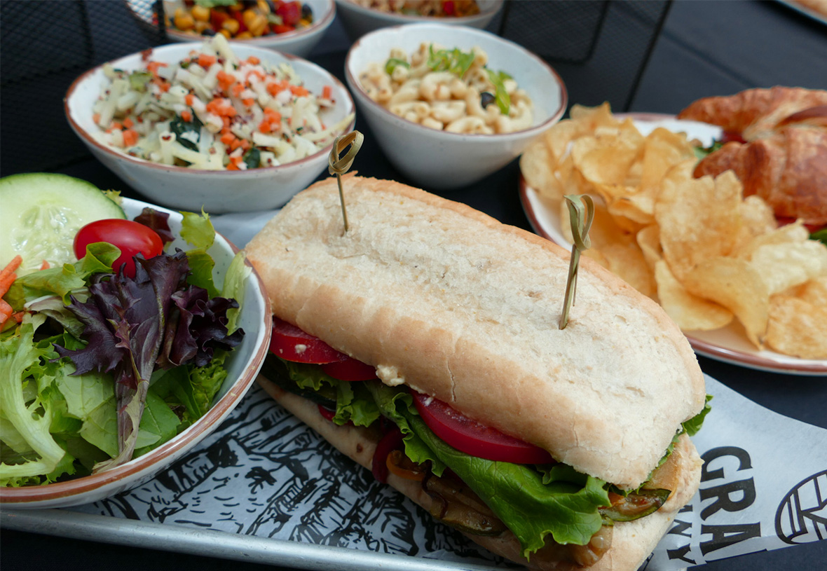 Sandwiches and sides at Yavapai Restaurant