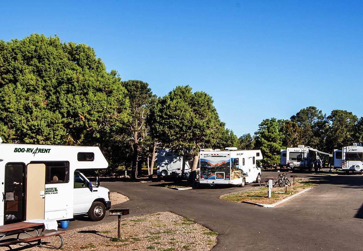 grand canyon south rim rv parks