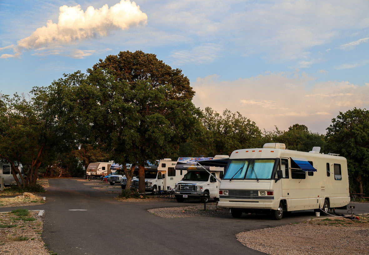Trailer Village RV Park at Sunset