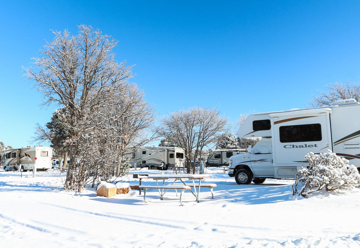 Trailer Village RV Park is open year round