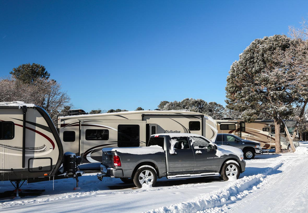 Winter Camping at Trailer Village RV Park