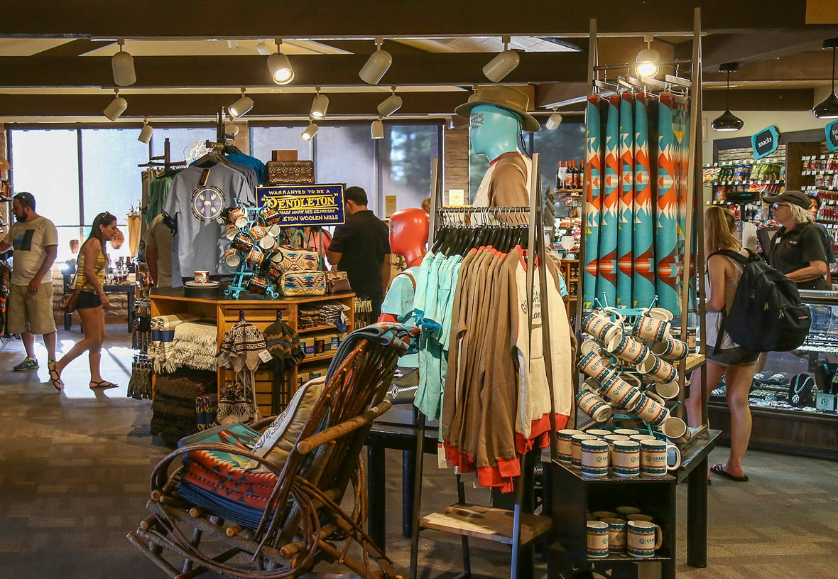 Visit Yavapai Gift Shop, located in Yavapai Lodge