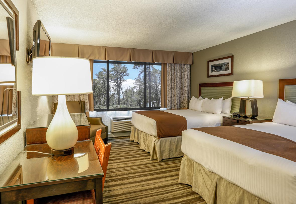 Yavapai East Double Queen Room