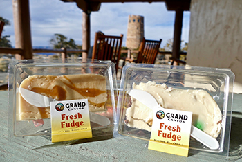 Desert View Ice Cream's made-from-scratch fudge sold at the South Rim of Grand Canyon National Park