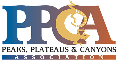 Peaks, Plateaus and Canyons Association logo